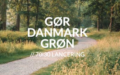 Lancering af 70i30: Millioninvestering i grønne fællesskaber